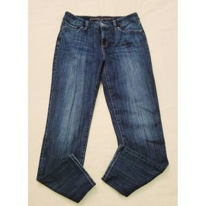 Chico's So Slimming Girlfriend Ankle Blue Jeans